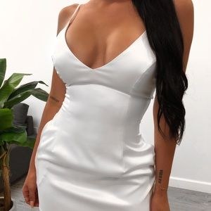 Lauras Boutique White Selena Dress